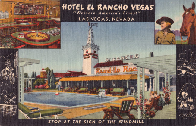 Wilbur Clark owned the El Rancho Vegas. Clark's estate was the subject of litigation over late creditor claims.